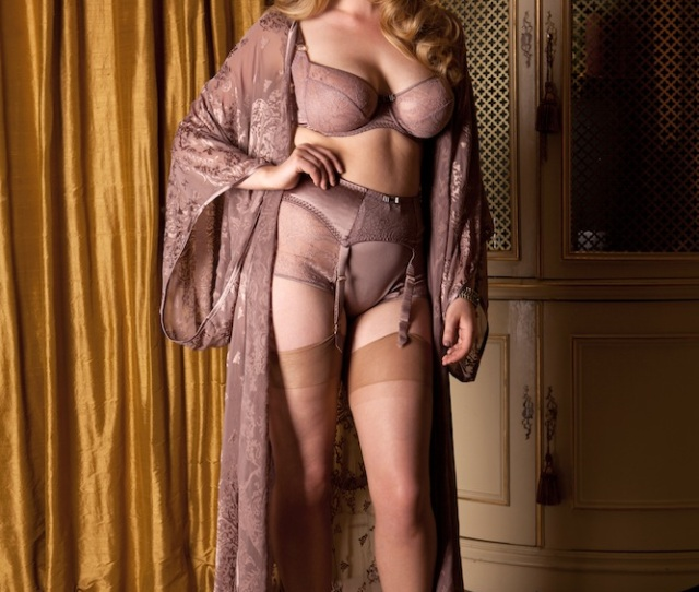 And The Sophia Named After My Mother Which Features A Gorgeous Floor Length Sheer Kimono And Beautifully Subtle Allover Leavers Lace