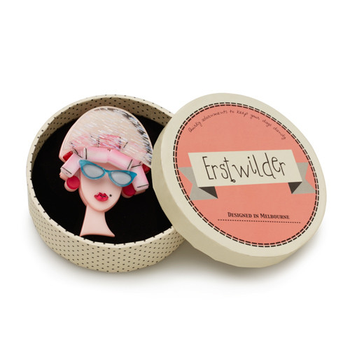 Erstwilder_Fancy_New_Do_Brooch_Pink_Box