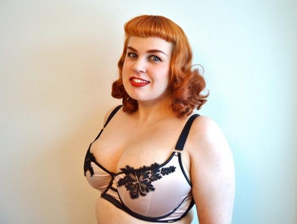 redhead bbw lingerie